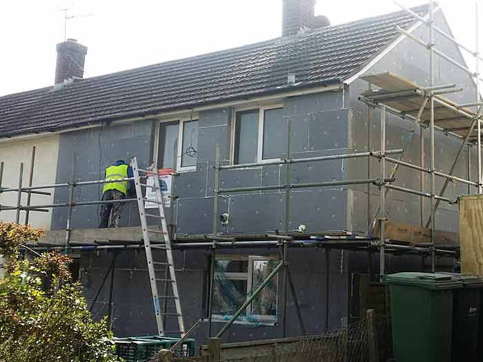 external wall insulation and rendering srvice